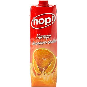 HOP! néctar de naranja sin azúcares añadidos envase 1 l