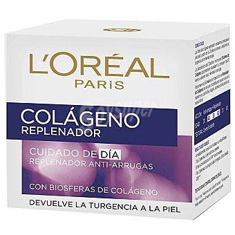 Colágeno L'Oréal Paris Colágeno Replenador. Cuidado de día, corrige las arrugas Tarro 50 ml