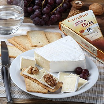 Carrefour Queso brie 60% mg Carrefour 200 g
