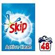 Detergente en polvo para lavadora con aceleradores de lavado 2,88 kg Skip