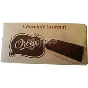 Orbea Chocolate con leche crocanti Tableta 125 g