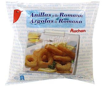 Auchan Calamares a la romana en anillas 400 gramos