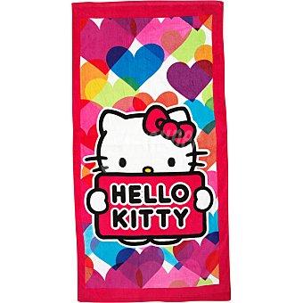 Hello Kitty Toalla de playa Velour 75 x 150 cm