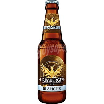 Grimbergen Cerveza belga de trigo Blanche Botella 33 cl