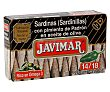 Sardinillas con pimiento de Padrón en aceite de oliva Lata de 88 g Javimar