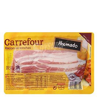 Carrefour Bacon en lonchas - Sin Gluten 200 g