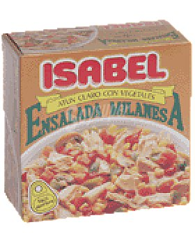 Isabel Ensalada milanesa 157 GRS