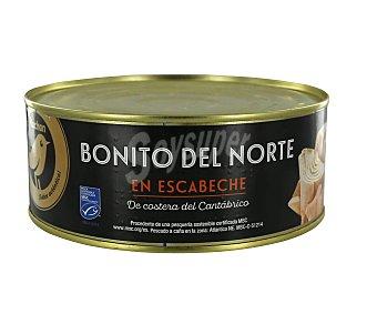 Alcampo Gourmet Bonito del Norte en escabeche, MSC (pesca sostenible certificada) 500 g