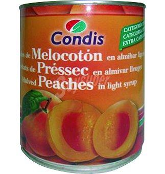 Condis Melocoton almibar Lata 1 kgs