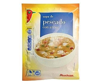 Auchan Sopa de pescado tradicional 110 gramos