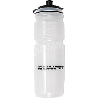 RUNFIT Bidón de agua en color blanco para ciclista 1 Unidad