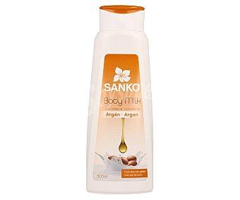 Sanko Body milk enriquecido con aceite de argán, para todo tipo de pieles 500 ml