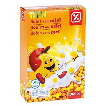 DIA Cereales en bolas de maiz con miel paquete 500 gr Paquete 500 gr