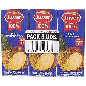 Juver Zumo Piña 6x20cl