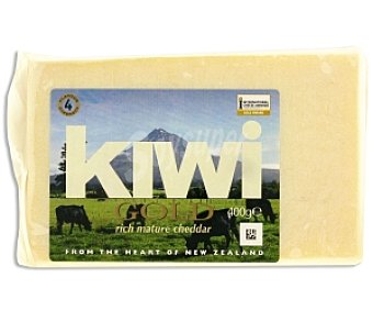 KIWI GOLD Queso Cheddar Inglés 400g