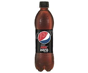 Pepsi max Zero Ázucar refresco de cola  botella 50 cl