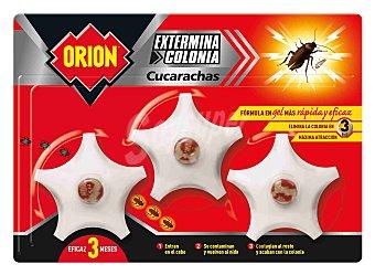 Orion Cebo de gel para cucharachas 3 uds
