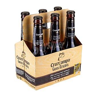 Cruzcampo Gran Reserva Cerveza Pack 6x33 cl