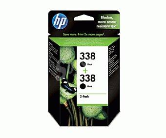 HP Cartuchos de Tinta 338 Negro 2 Unidades