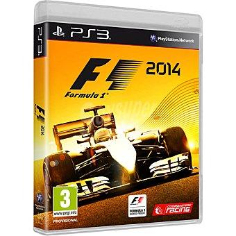 PS3 F1 2014 Para PS3