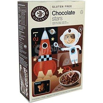 DOVES FARM ORGANIC Cereales de chocolate sin leche sin gluten Envase 375 g