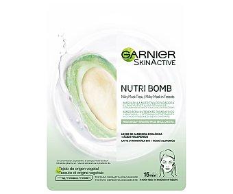 Garnier Skin Active mascarilla nutritiva reparadora para piele secas y tirantes Sobre 1 unidad