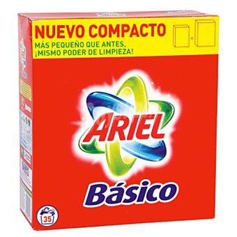 Ariel Detergente maquina polvo basico maleta 35 cacitos 35 cacitos