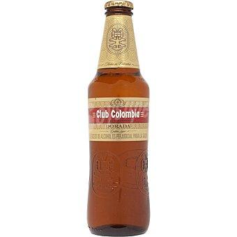 CLUB COLOMBIA Cerveza rubia colombiana botella 33 cl Botella 33 cl