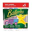 Bayetas microfibras 5 uds Ballerina