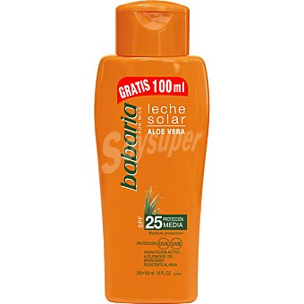 Babaria Leche solar aloe vera FP-25 spray 300 ml Spray 300 ml
