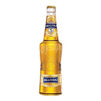 BALTIKA Cerveza Golden Lager Premium nº 5 50 cl