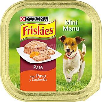 FRISKIES MINI MENU Para perro con pavo y zanahorias Tarrina 150 g