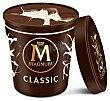 Tarrina de helado de vainilla con láminas de chocolate con leche 440 ml Magnum Frigo