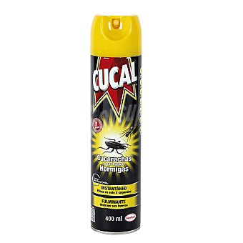 Cucal Insecticida aerosol rastreros 400 ml