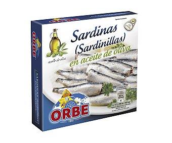 Orbe Sardinillas en aceite de oliva Lata de 78 g