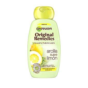 ORIGINAL REMEDIES Champú arcilla suave y limón Frasco de 250 ml