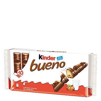 Kinder Bueno Barritas de chocolate con leche y avellanas Estuche 440 g (10 uds)