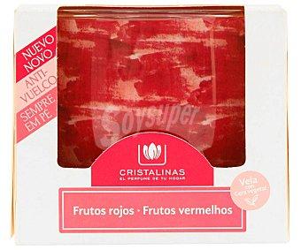 Cristalinas Vela frutos rojos