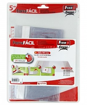GRAFOPLAS Pack 5 Forrafacil A5 Pack 5