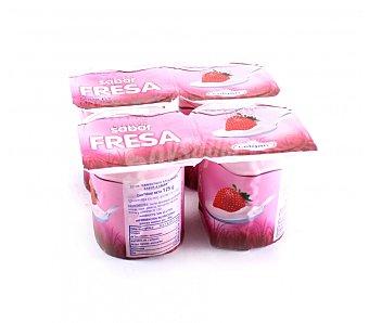 Celgan Yogur sabor fresa Pack 4x125 grs