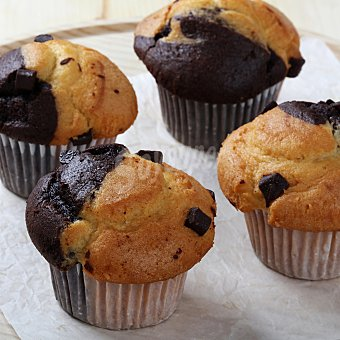 Carrefour Muffin fusión 4 ud 4 ud