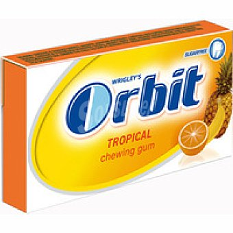 Orbit Chicles tropical tabs Paquete 32 g