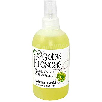 Gotas Frescas Agua de colonia concentrada Frasco 250 ml