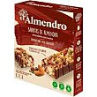 Barrita de chocolate con leche EL almendro, 4 uds., caja 100 G Caja 100 g El Almendro