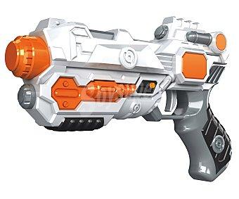 Space equiped Pistola galáctica con luces y sonidos 1 unidad