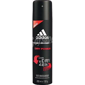 Adidas Desodorante Action 3 Dry Power Man 48h anti-transpirante spray 200 ml Spray 200 ml