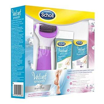Scholl Pack Velvet Smooth (lima + baño y serum para pies) 1 ud