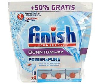 Finish Lavavajillas quantum max de 18+9 unidades
