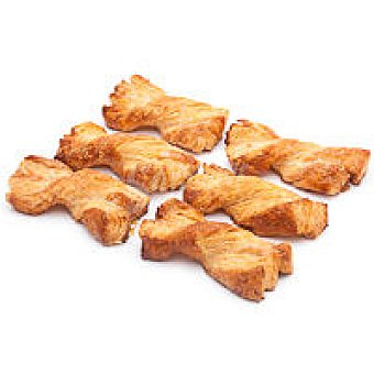 Eroski Lazos de mantequilla Bandeja 8 unid