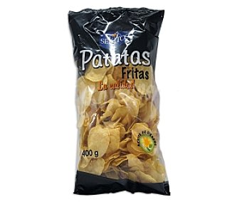SEKITOS Patatas fritas lisas 400 Gramos